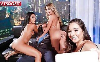 LETSDOEIT - Lucky Club Owner Has Sex With Yoke Delicious Big Ass Teen Babes (Kat Dior & Morgan Lee)