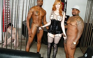 Black Blarney Anal with Lauren Phillips - Cuckold Sessions