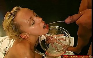 Young Annette Schwarz loves extreme Pissing - 666Bukkake