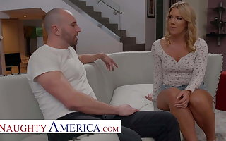 Naughty America - Candice Dare gets a Fucking give-away