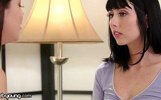 Alina Lopez's Acting Practice Flexuosities Into A Scissoring Moment