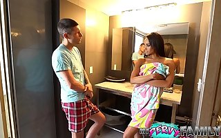 Cheating Mummy Almost Caught With Step Son (Part 1) - Gia Vendetti -