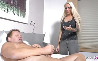 German Niece Caught Step Uncle Jurgen Larva with an increment of Helps with Carnal knowledge