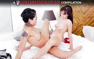 Scissoring Compilation Fixing 2 - GirlfriendsFilms