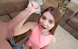 Cute Young Thumbnail Petite Tiny Teen Fucked By Huge Cock