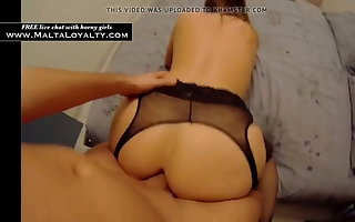 French lady loves anal sex with a stranger