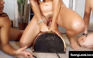 Be in charge Sybian Sex With Vicky Vette, Sunny Lane & Jenna Foxx!