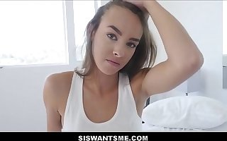 WOW Hot Teen Stepsister Charity Crawford Sex With Stepbrother After Boyfriend Breaks Up With Say no to POV