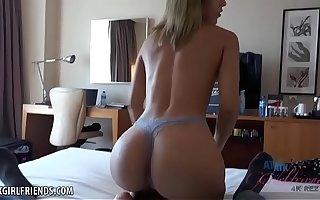 Latina there PERFECT ass fucked in Spain (Demi Lopez) POV Amateur