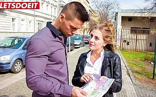 Hot Czech Teen tricks Stud into pulling her home (Silvia Dellai & Angelo Godshack)