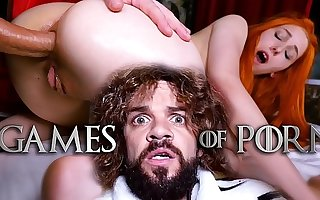 Meet Elin Flame painless Lady Sansa assfucked by her mad midget husband Tyrion Fuckister in #GameOfPorn hardcore sex parody from Jean-Marie Corda