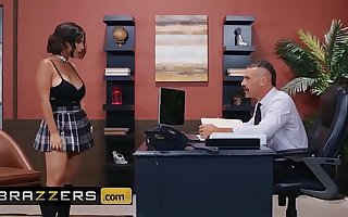 Fat Tits at School - (LaSirena69, Charles Dera) - An Exotic And Dispirited Partisan - Brazzers