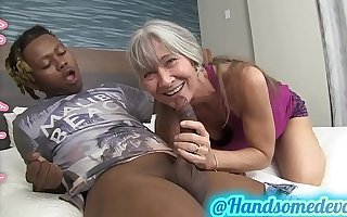 granny takes dicks a charge out of prefer shes 18 again (leilani lei & handsomedevan)