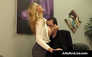 Adult Endowment Winner Julia Ann Drains A Cock With Hot HandJob!