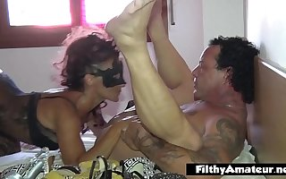 Wives who love shoes, cum and DP