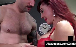 Older Lady Sexy Vanessa Gets Fat Cock Banged By Alex Legend!