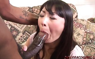 Housewife lets big black load of shit be crazy her then swallows