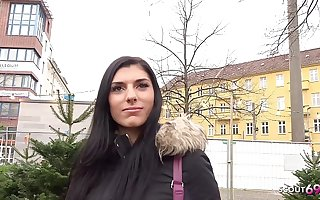 GERMAN SCOUT - Cute 20yr old Teen Kristall Pickup increased by Be captivated by by Real Street Casting