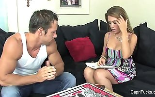 Capri Cavanni is hungry for Learn of